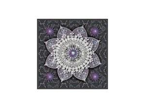 Lace Mandala lavender